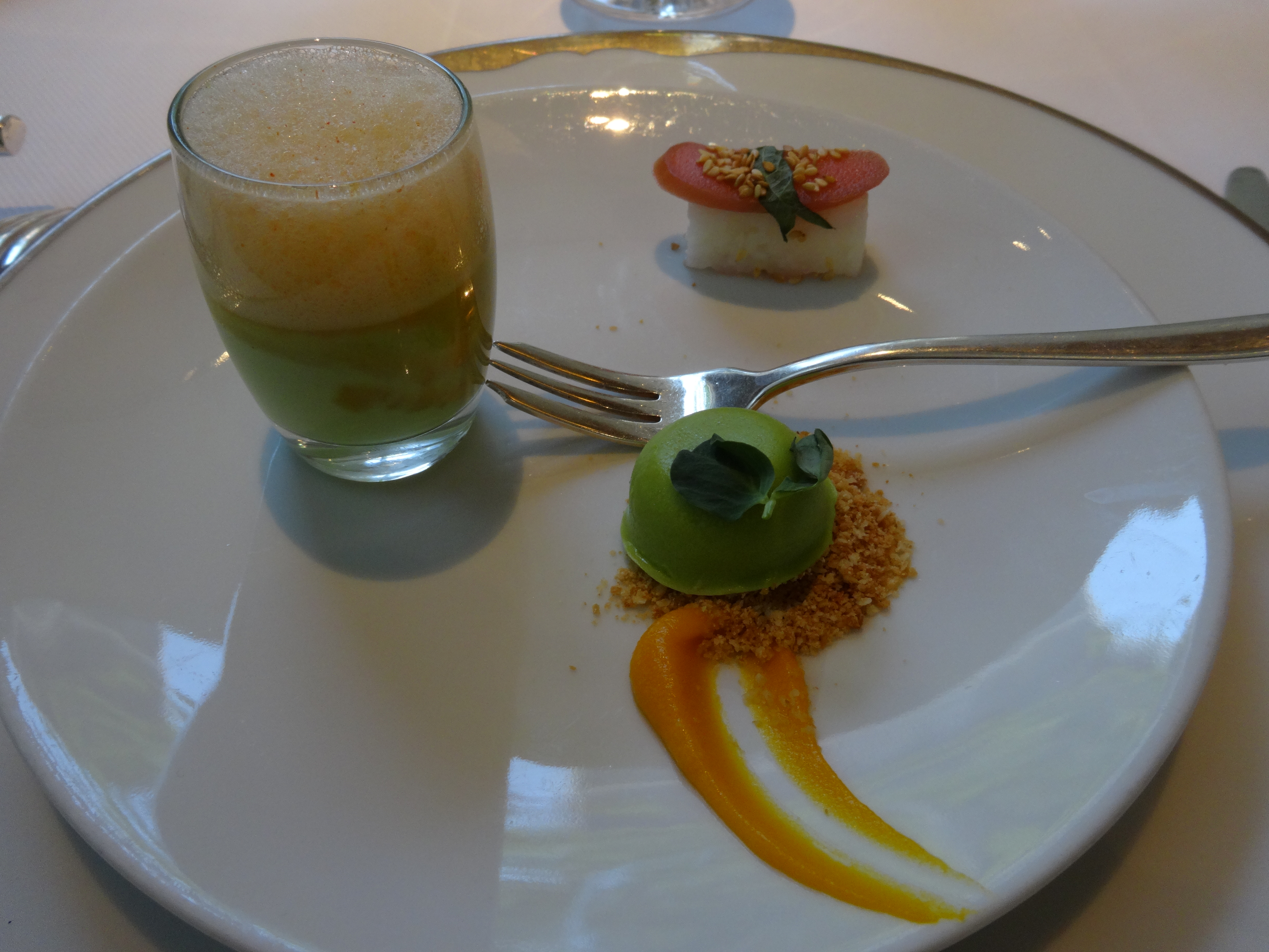 Jean georges kenneth tiong eats - Amuse bouche chaud ...