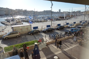 "Une Table au Sud | Marseille | Dec '12 | ""Panoramic views of le Vieux Port"""